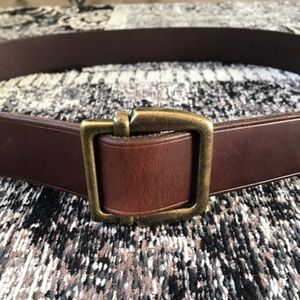 Vtg Ralph Lauren Polo Belt